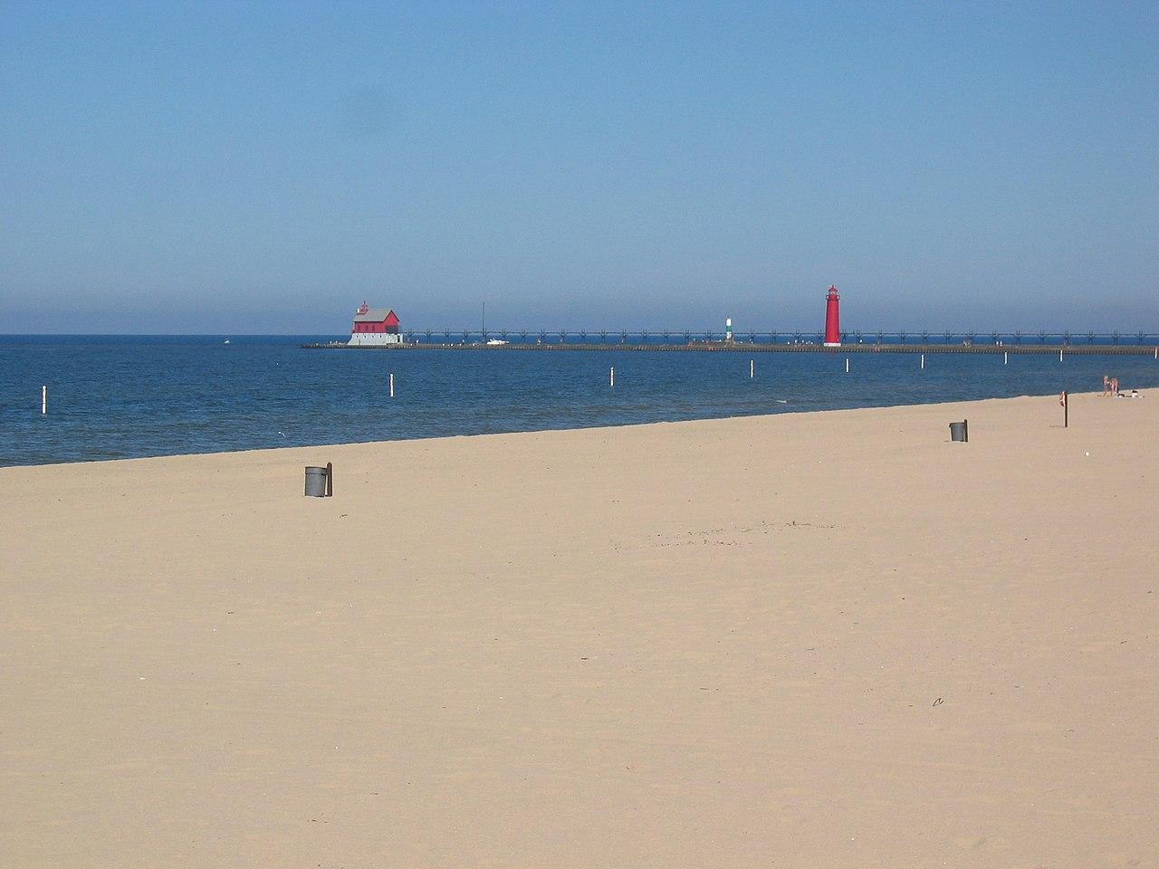 Best Beach of Michigan-Grand Haven Beach