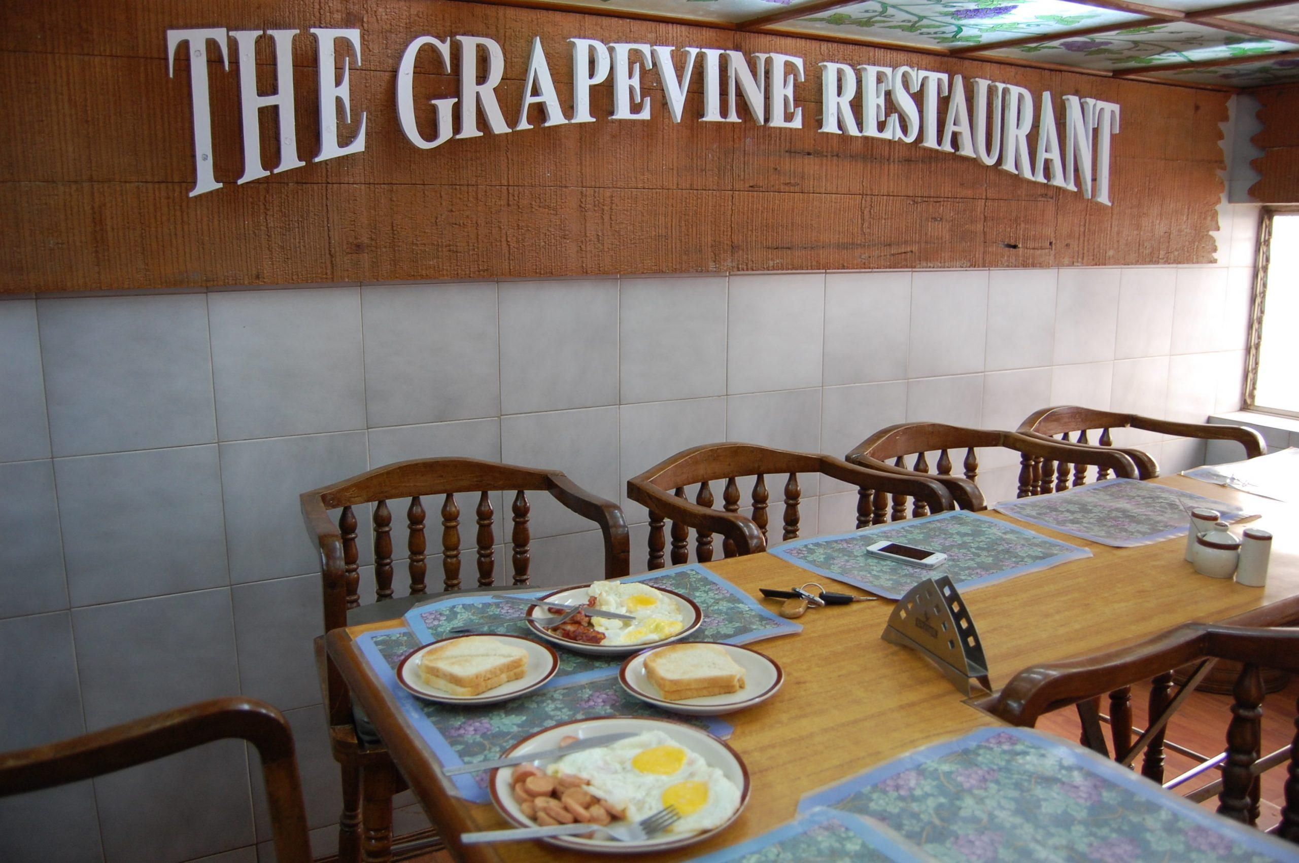 Grapevine Top Mahabaleshwar Restaurants