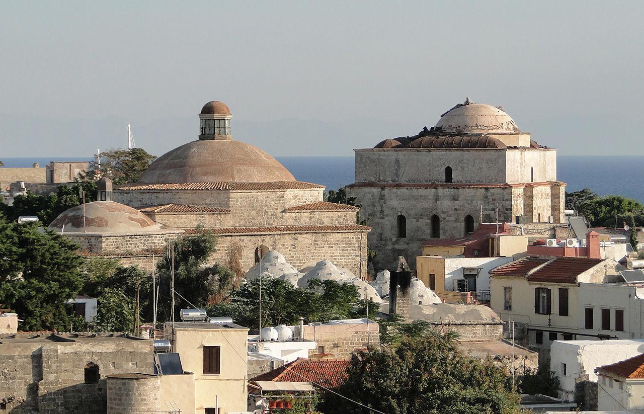 Visit Great Hammam (Turkish Bath) in Rhodes Island, Greece (2020)
