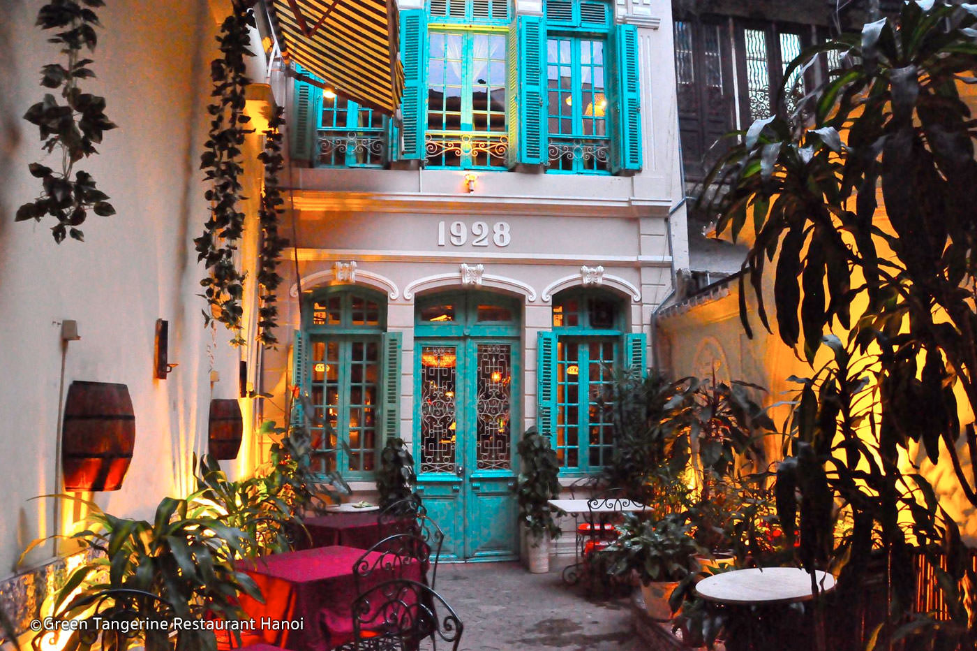 Restaurant In Hanoi-Green Tangerine