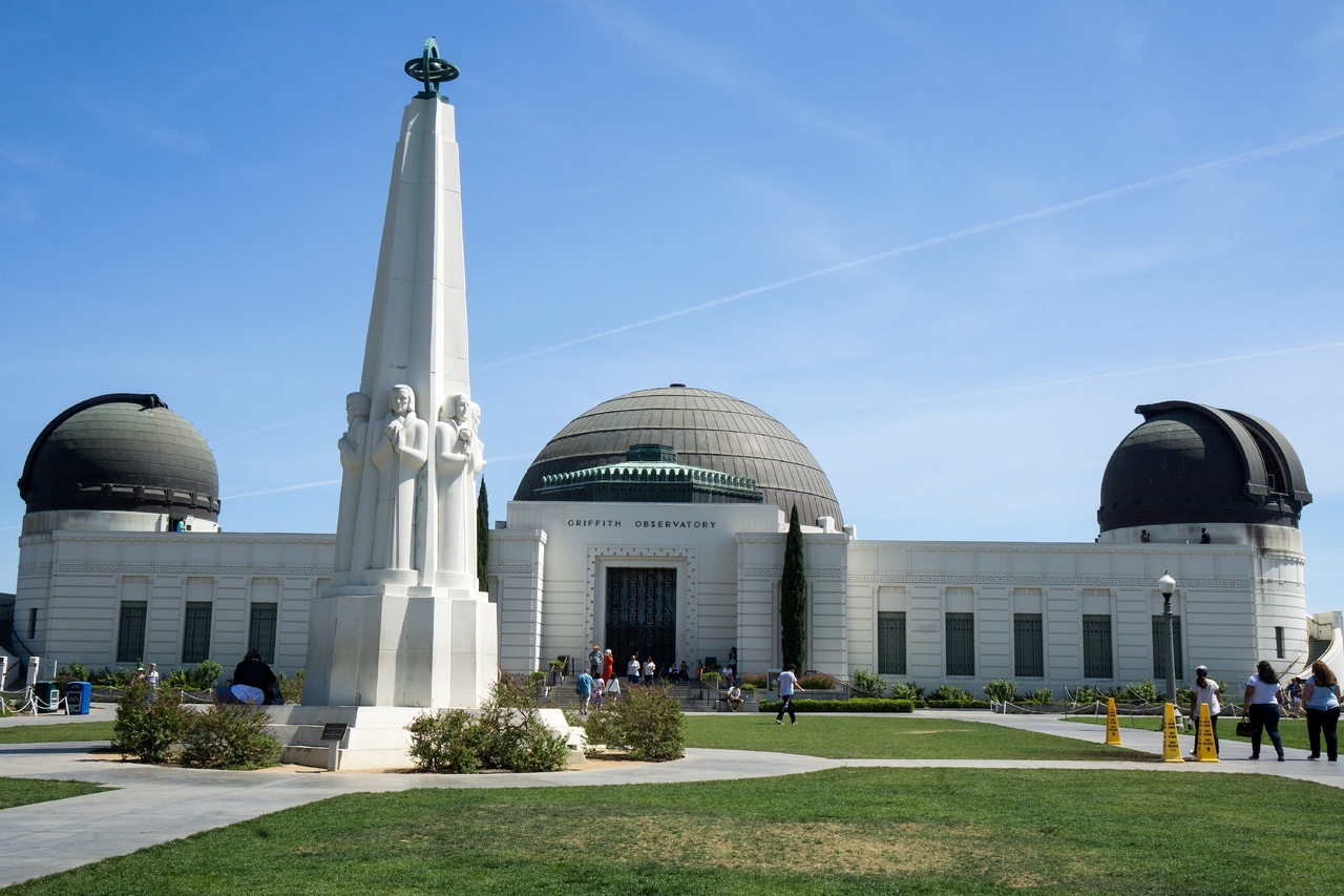 Magnetic Attraction of California-Griffith Observatory