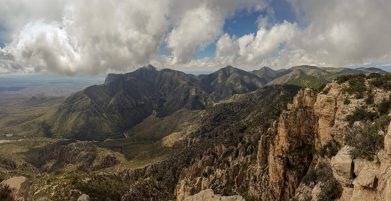 Popular National Parks In Texas-Guadalupe Mountains National Park