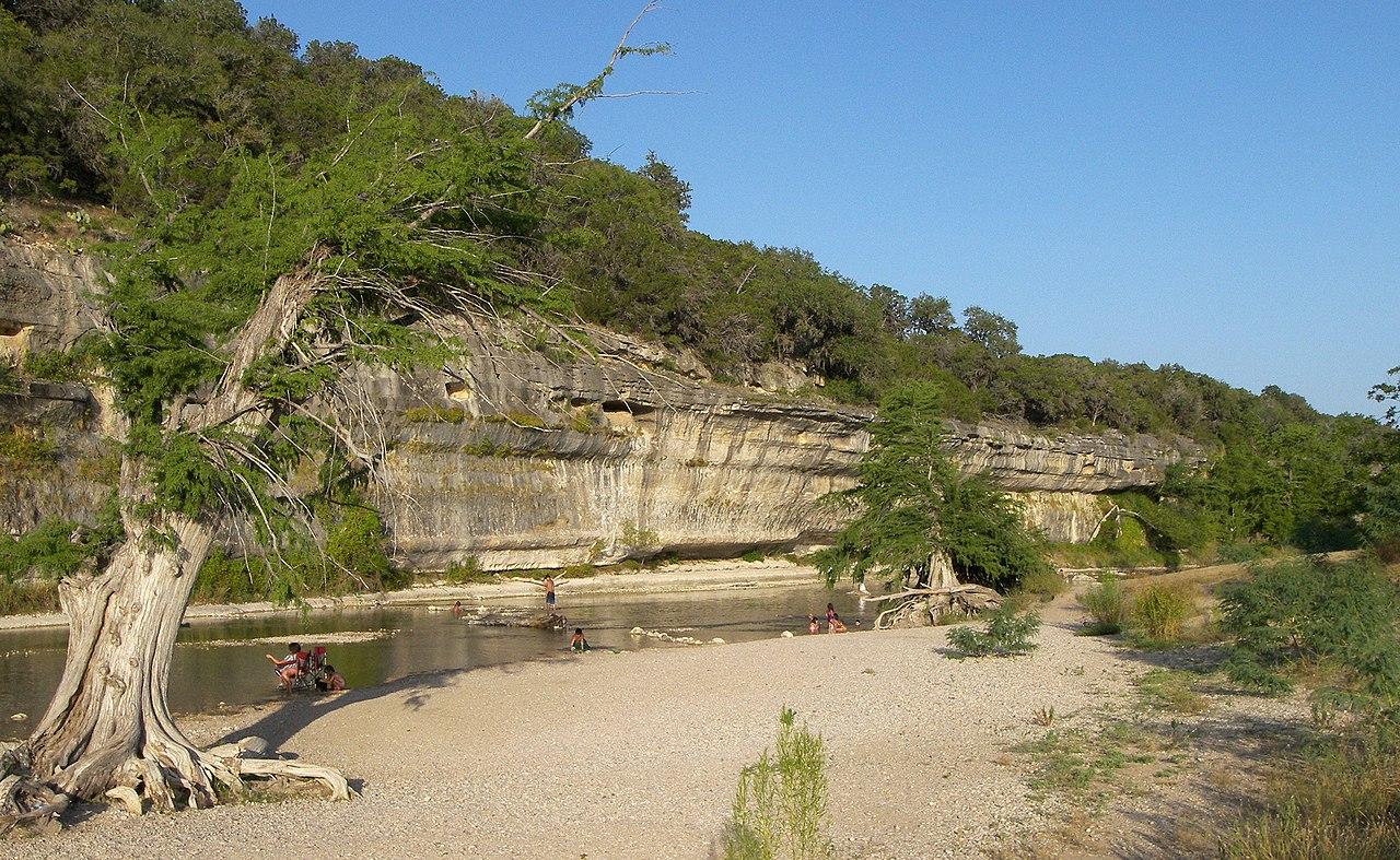 Popular Natural Swimming Location In San Antonio City-Guadalupe River State Park