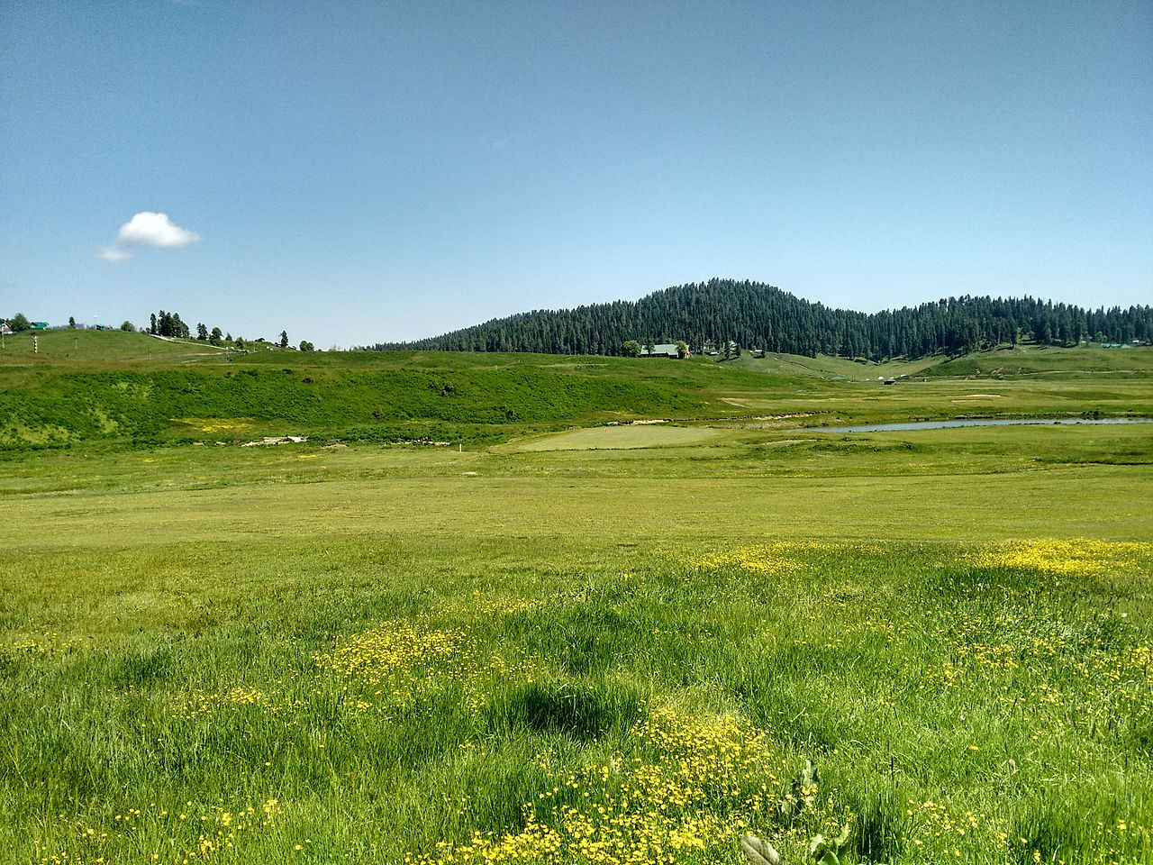 Amazing Place to See in Gulmarg-Gulmarg Golf Course