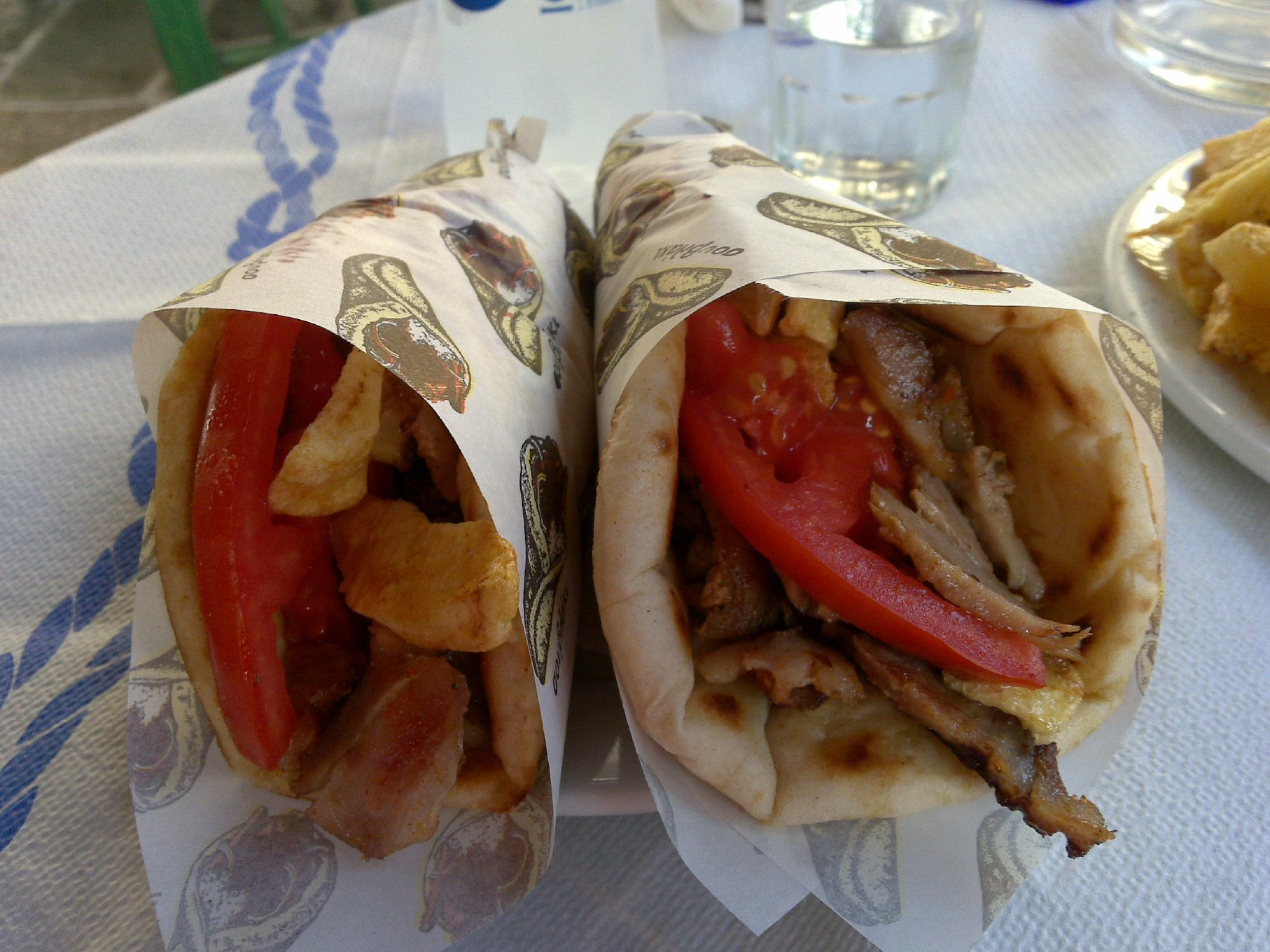 Gyro is the National Food of Greece
