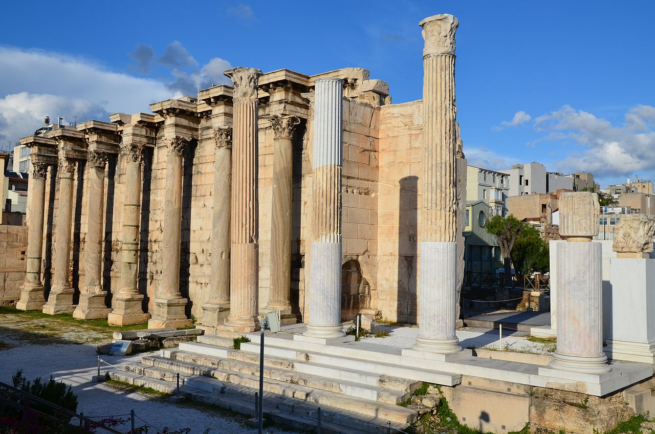 Hadrian's Library - The Roman Architectural Marvel in Athens