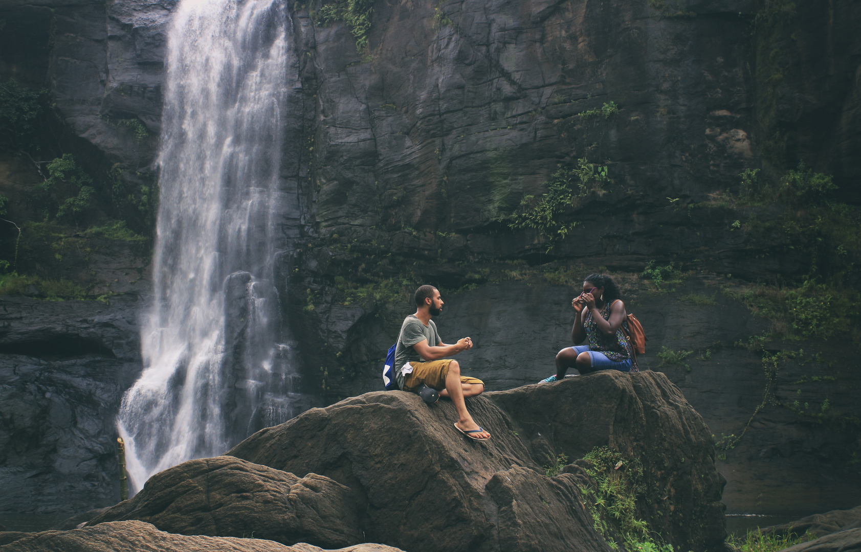 Attraction Waterfall in Ooty-Halashana Falls