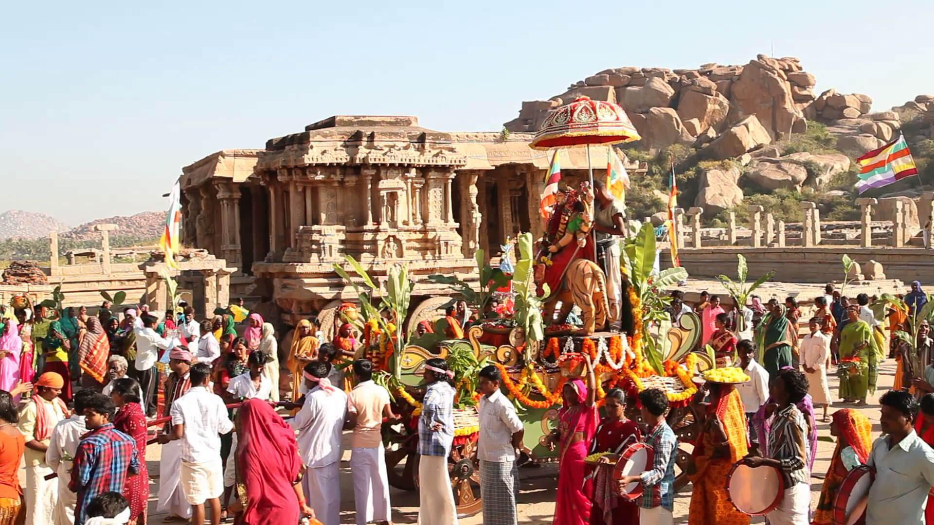 Hampi Festival - Popular Fairs and Festival of Karnataka