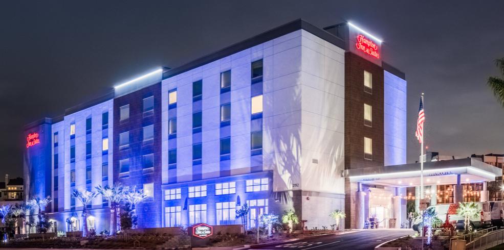 California Budget Hotel-Hampton Inn & Suites Irvine/Orange County Airport