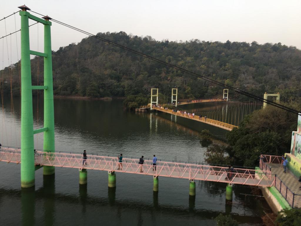 Visit The Hanging Bridge in Laknaravam Lake