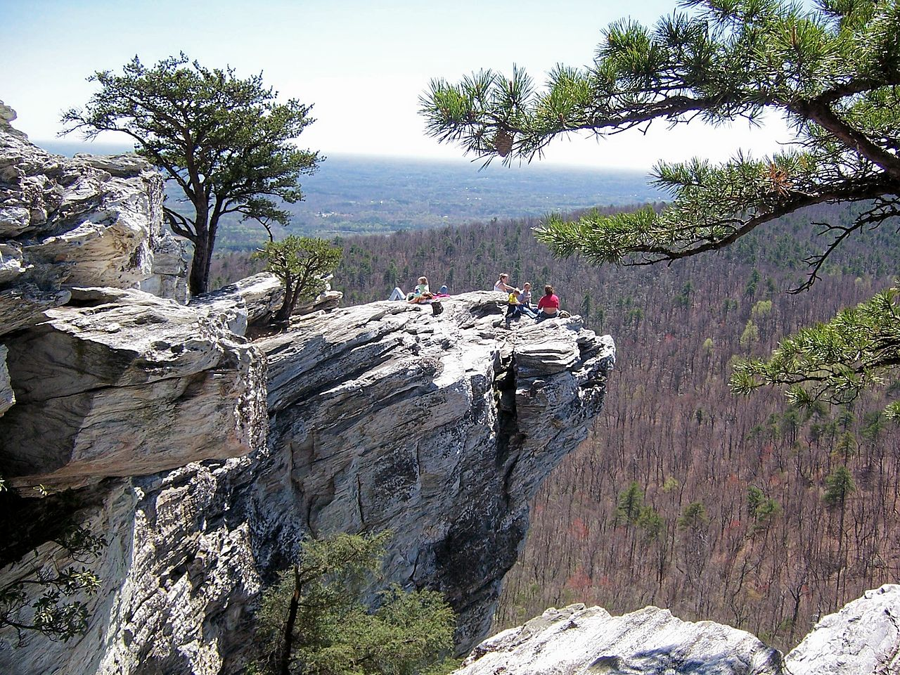 Nice Place to Visit In North Carolina-Hanging Rock State Park