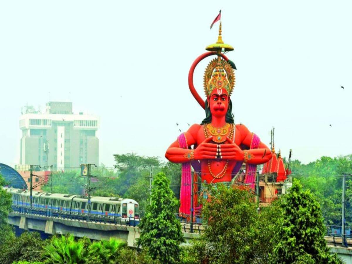 Must Visit Spiritual Destination In Delhi-Hanuman Mandir