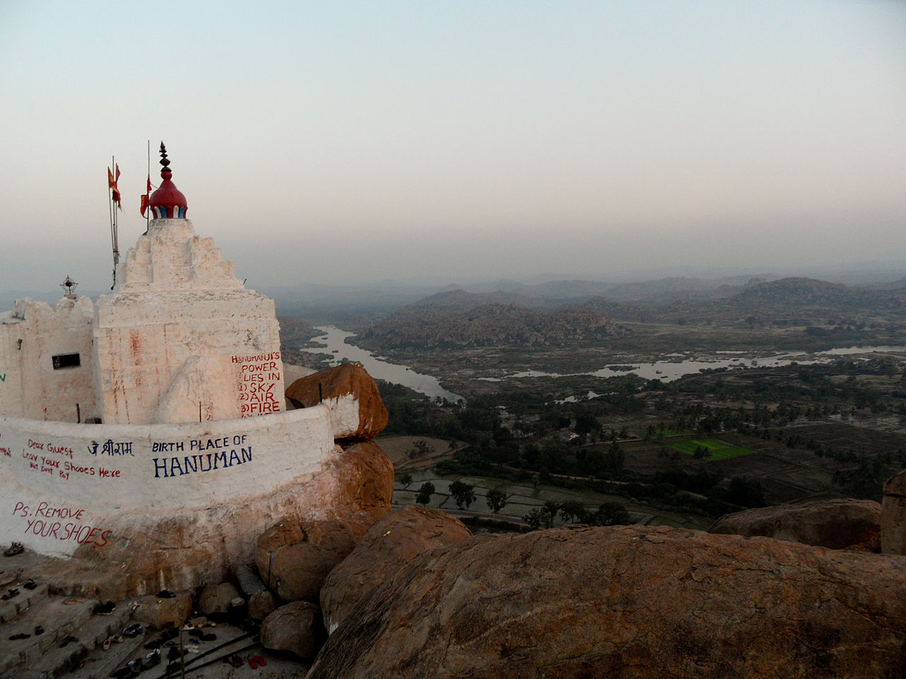 Best Place To Visit In Hampi-Hanuman Temple