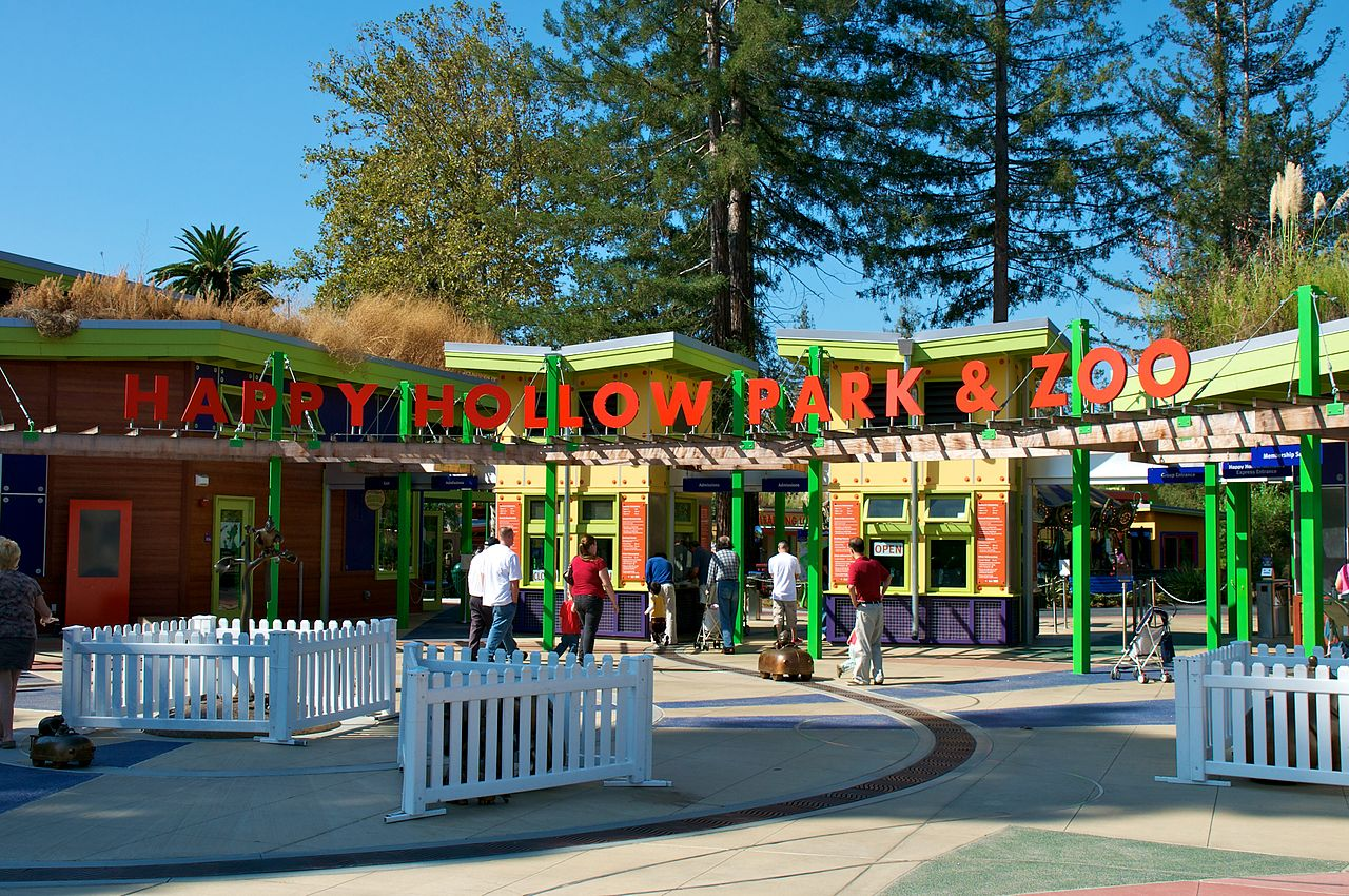Amazing Tourist Place To Visit In San Jose-Happy Hollow Park & Zoo