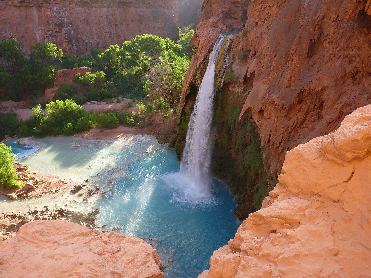 Visit The Majestic Havasu Falls: Activities To Do In And Around Havasu Falls and Places to Stay