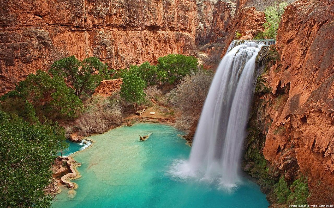Incredible Place to Visit in Arizona-Havasu Falls