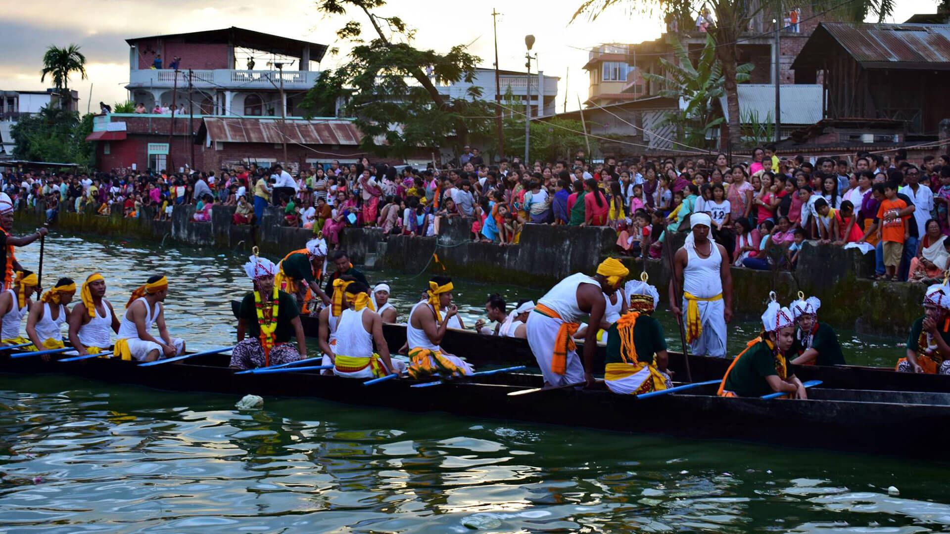 Attraction Festival Of Manipur-Heikru Hidongba