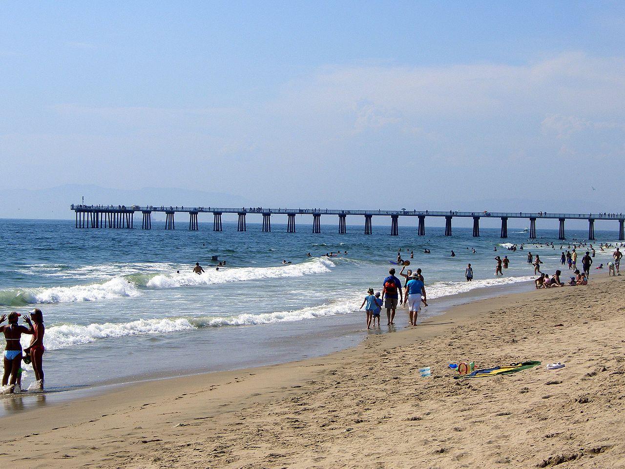 Popular Beach Near Disneyland and Anaheim-Hermosa Beach