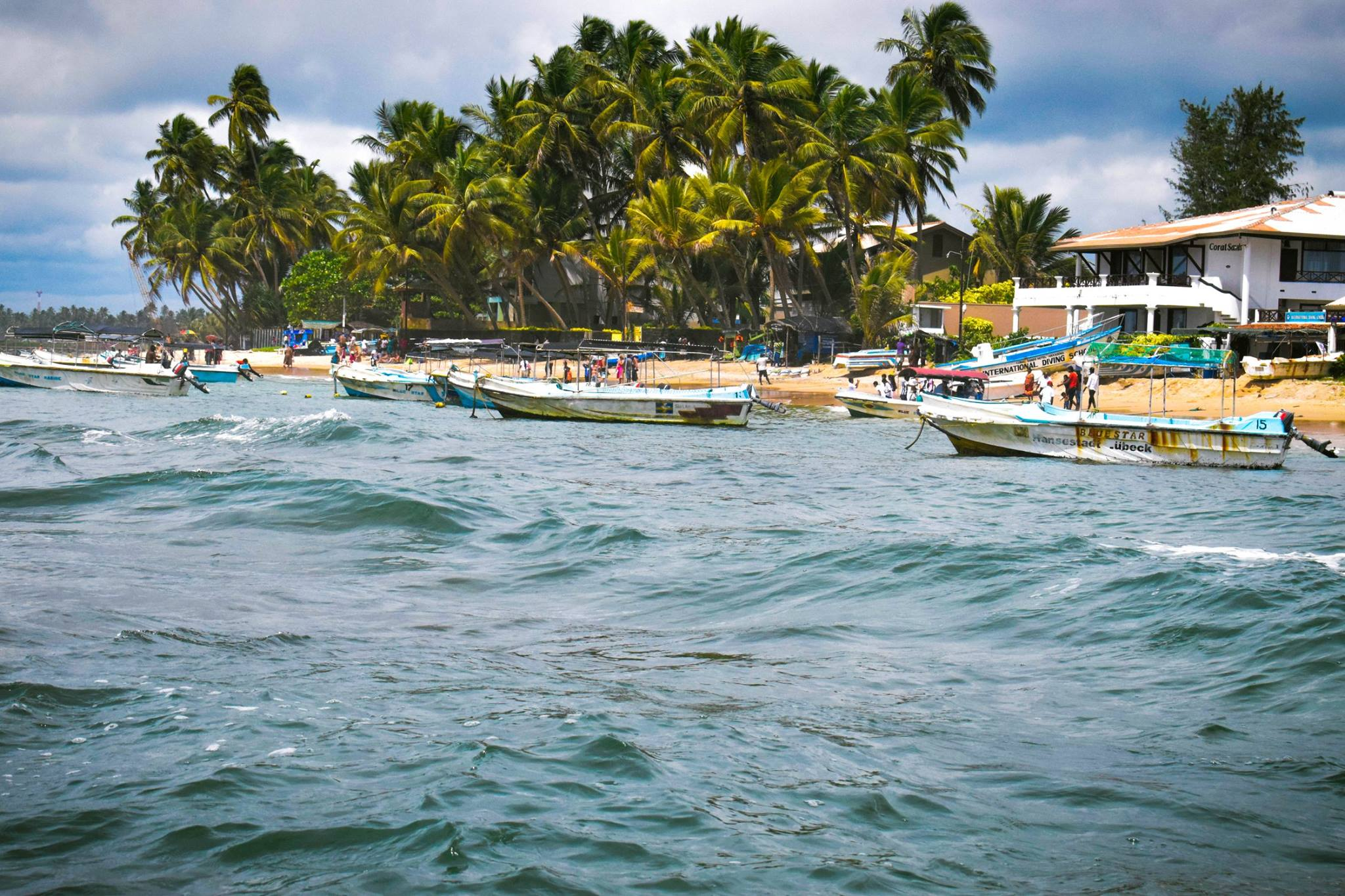 Sri Lanka Hikkaduwa Beach That Offer Gorgeous Sandy Shores
