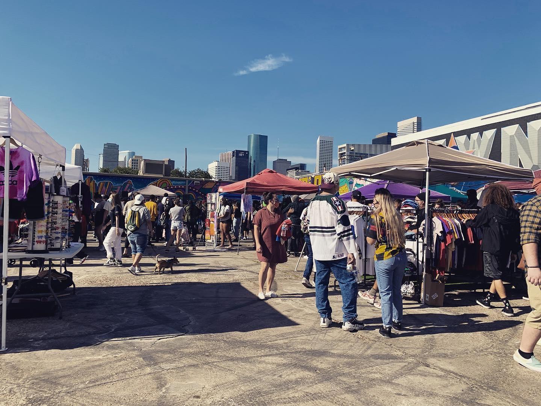 Popular Flea Market Of Houston City-Hip Hop Vintage Flea Market