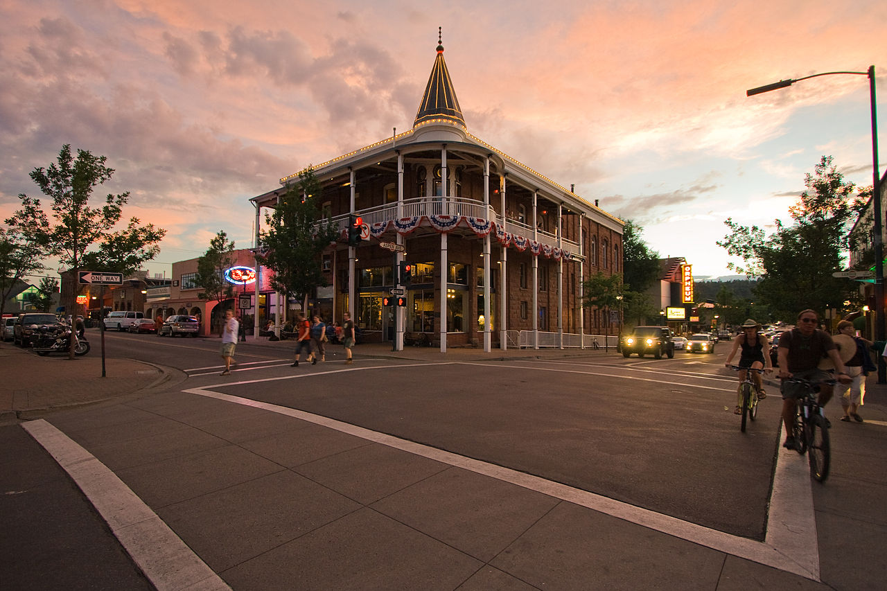 Sight-seeing Place To Visit In Flagstaff-Historic Downtown