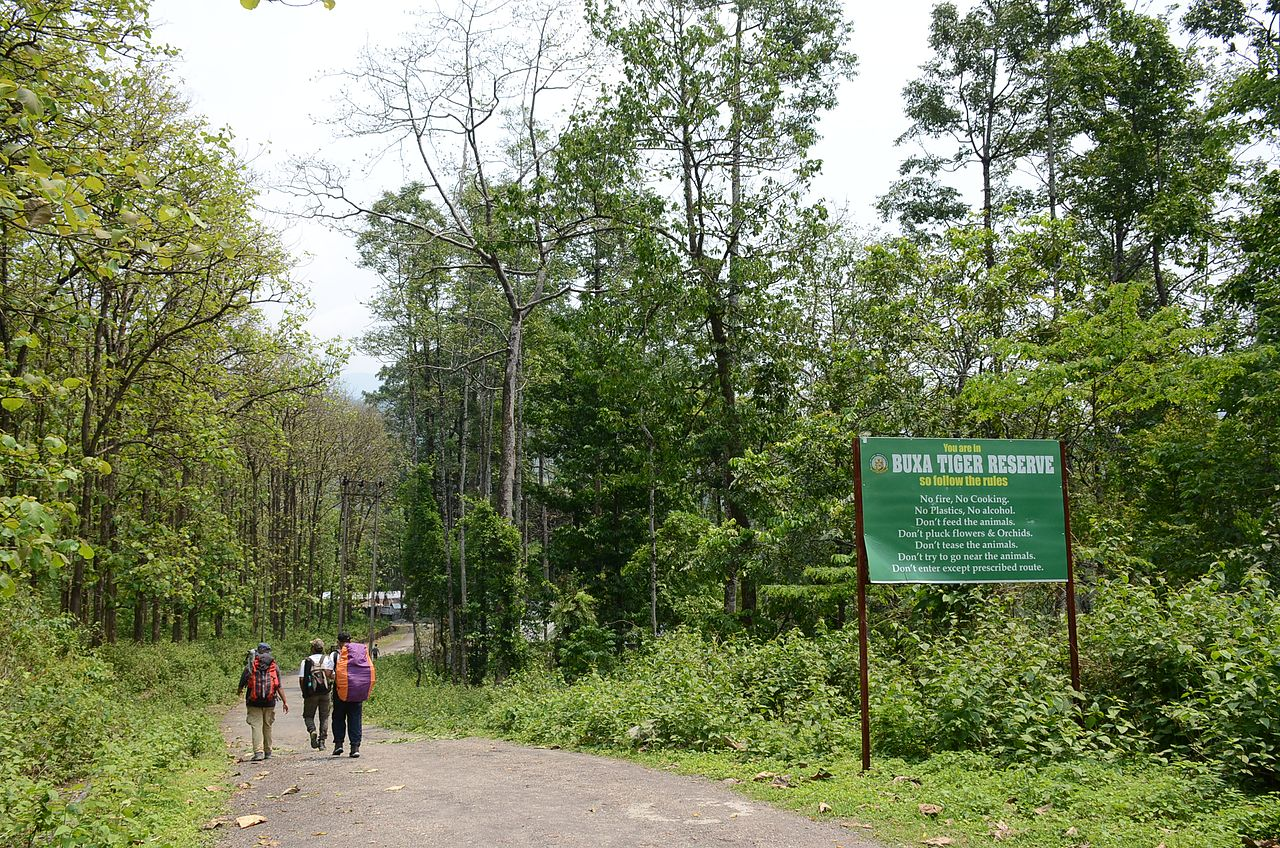 History and Location of the Buxa Tiger & Wildlife Reserve