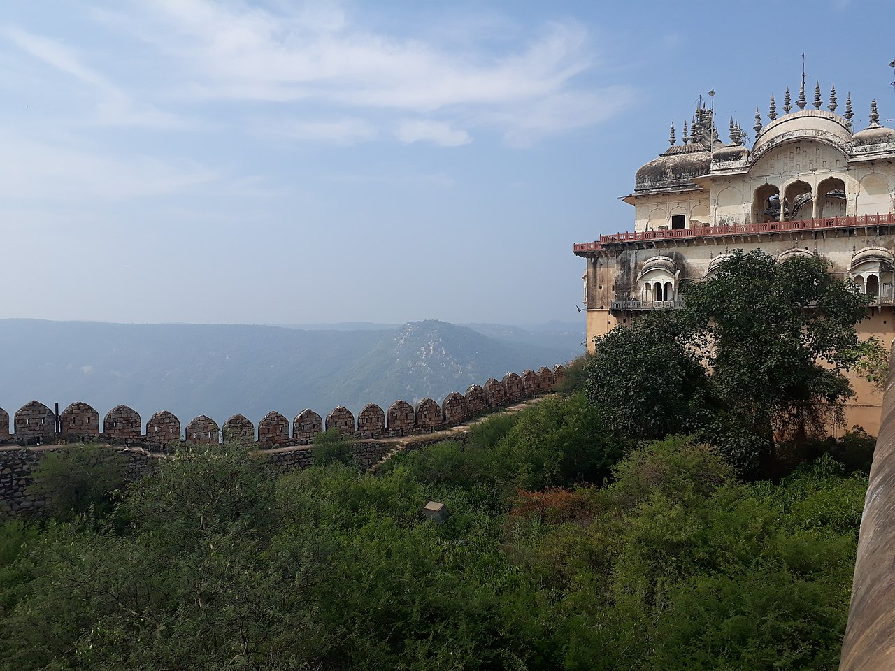 History of the Alwar Fort, Rajasthan