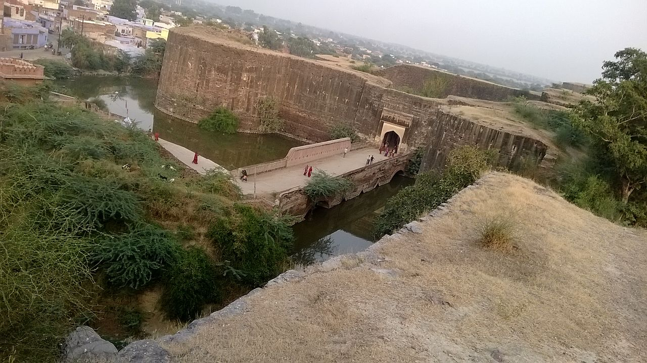 History of the Deeg Fort, Rajasthan