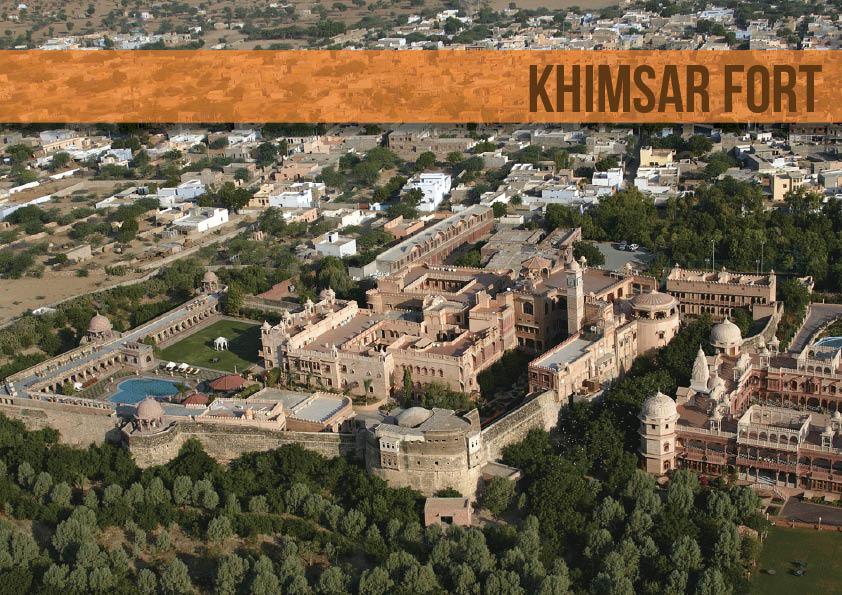 History of the Khimsar Fort, Rajasthan