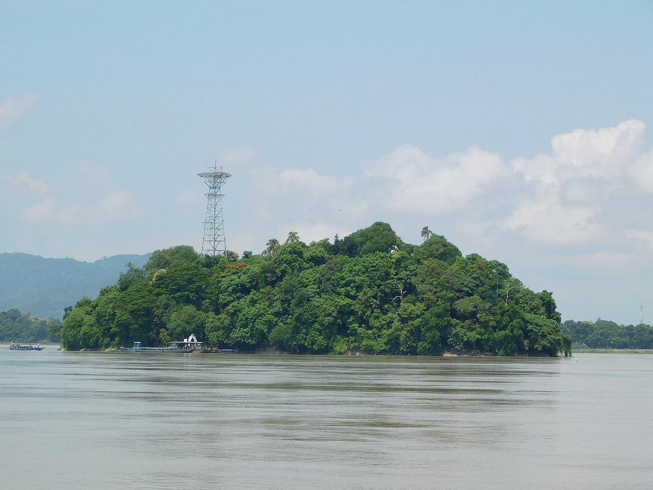 History of the Umananda Island