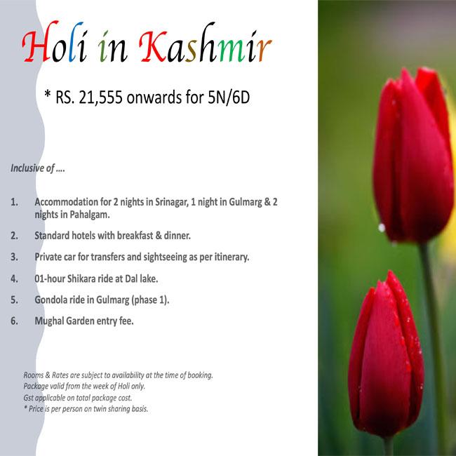Holi in Kashmir