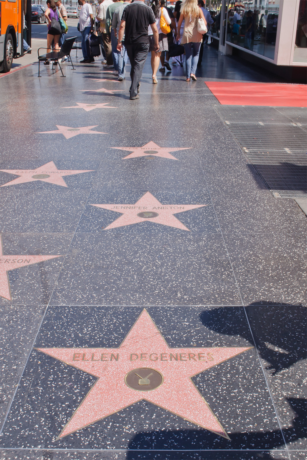 Magnetic Attraction of Los Angeles-Hollywood Walk Of Fame