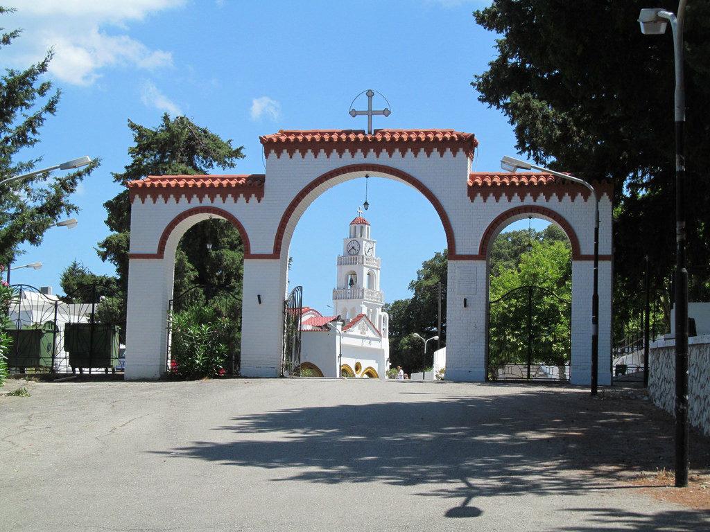 Visit Holy Monastery Panagia Tsambika in Rhodes, Greece