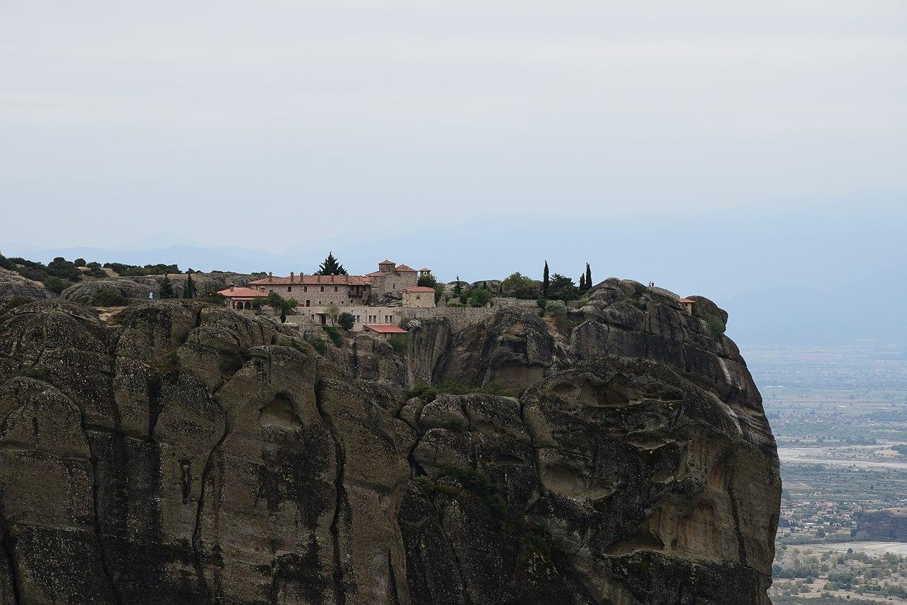Amazing Place in Crete Islands-Holy Trinity Monastery