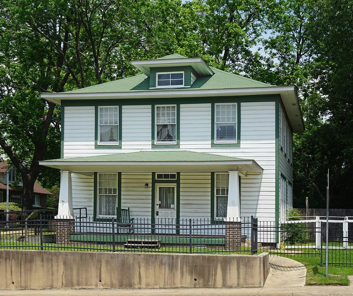 Beautiful Place In Arkansas-Hope, President William Jefferson Clinton's Birthplace