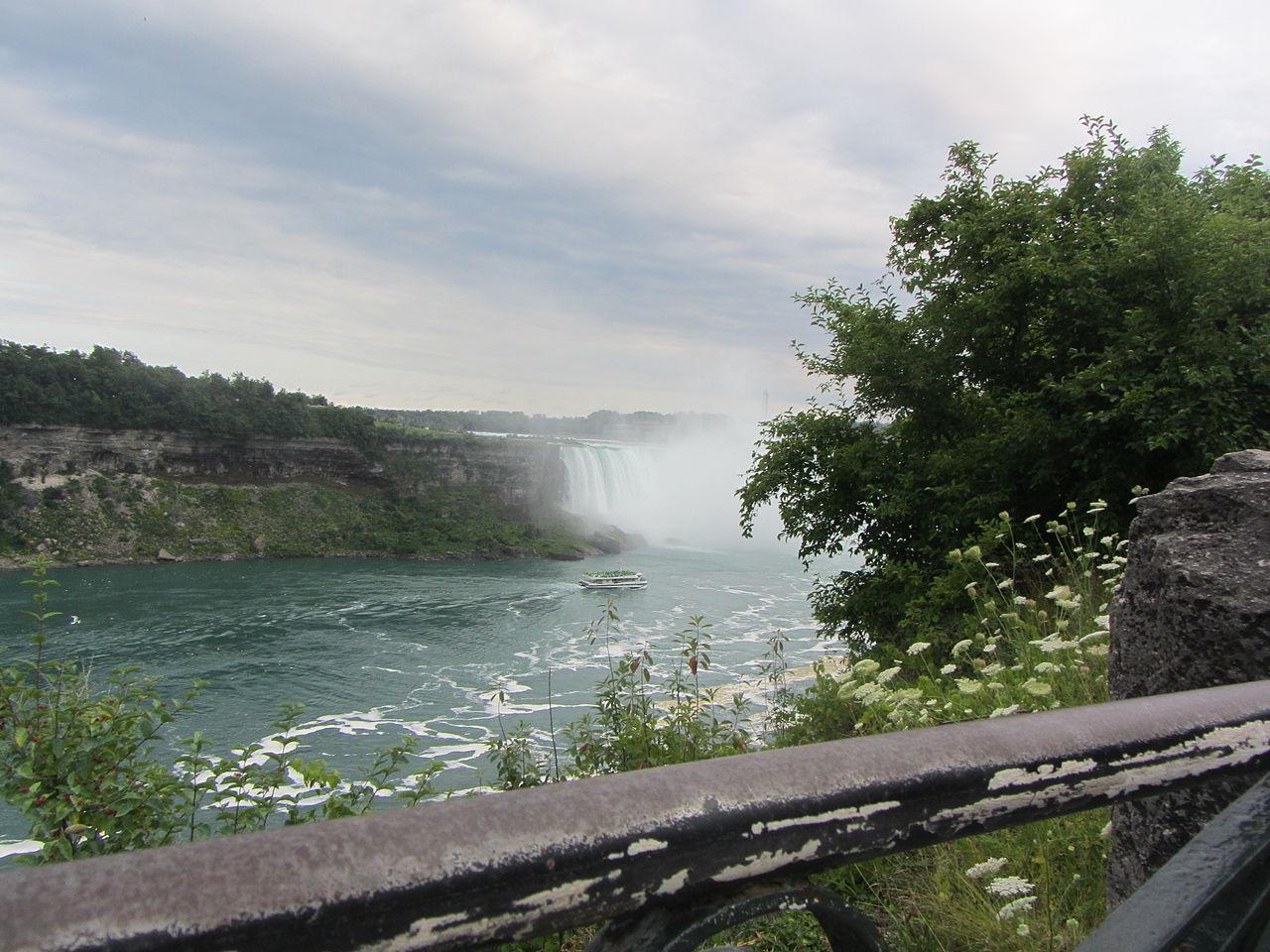 Top Waterfalls in Michigan-Horseshoe Falls