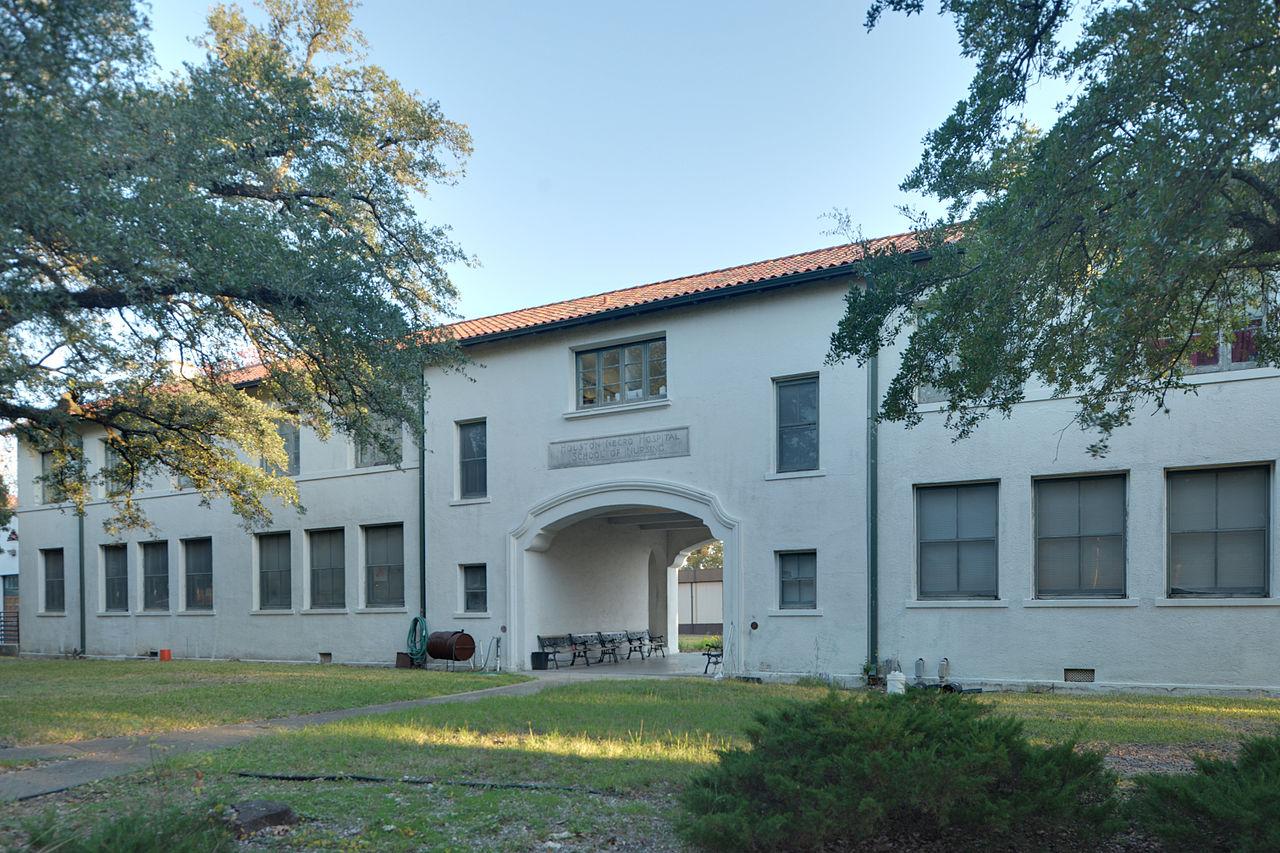 Magnetic Historical Landmarks of Houston-Houston Negro Hospital