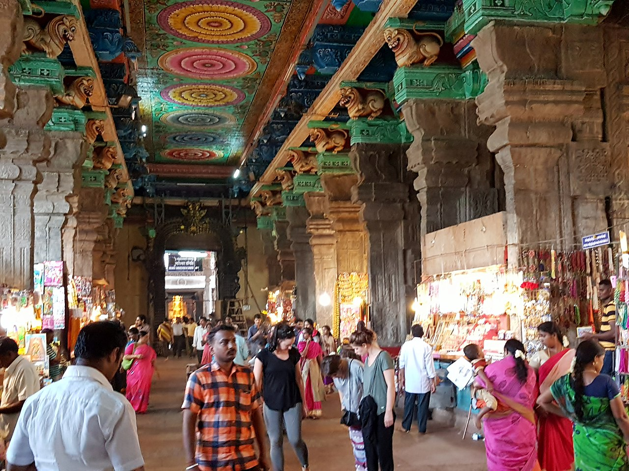 How Old is the Meenakshi Temple in Madurai?