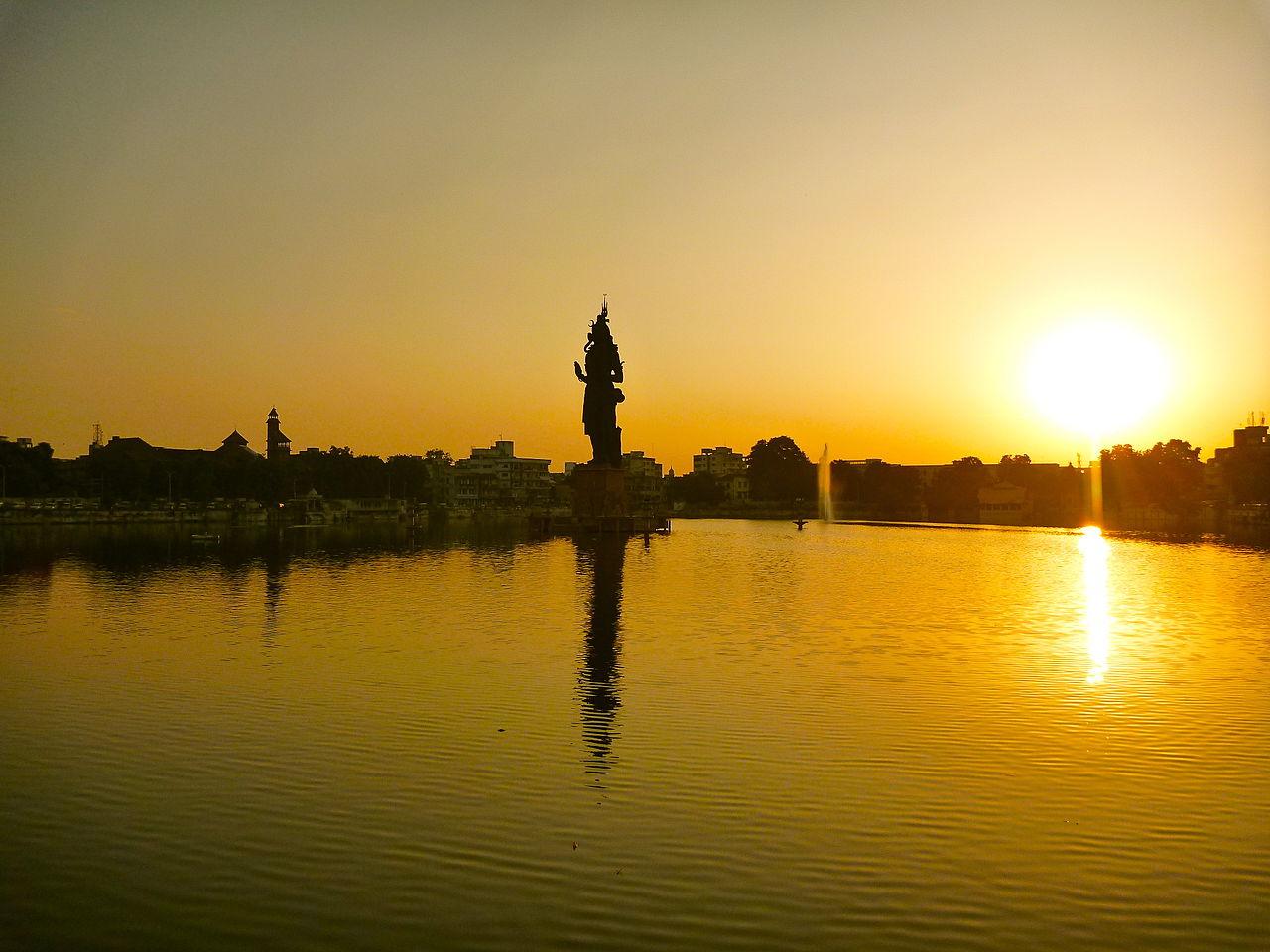 How to Reach Sursagar Lake?