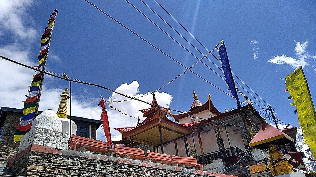 Amazing Place to See in Kalpa-Hu-Bu-Lan-Kar Monastery