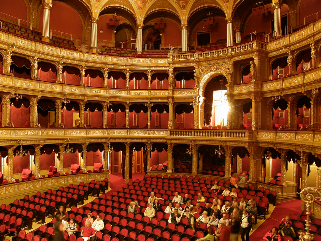 Hungarian State Opera House - Amazing Sight-Seeing Destinations in Budapest (Hungary)