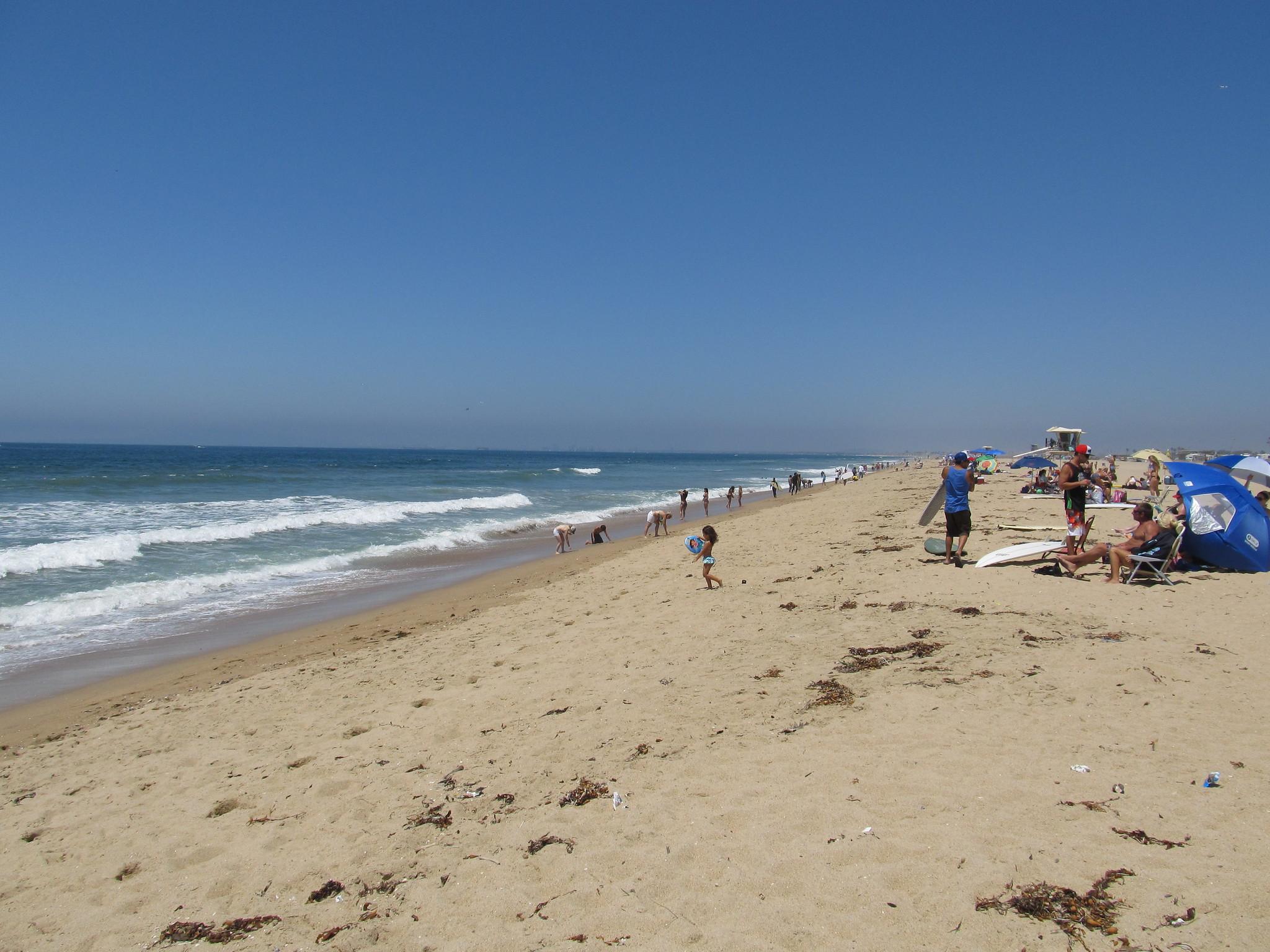 Huntington City Beach, Huntington Beach - Beautiful Beach Spot in California