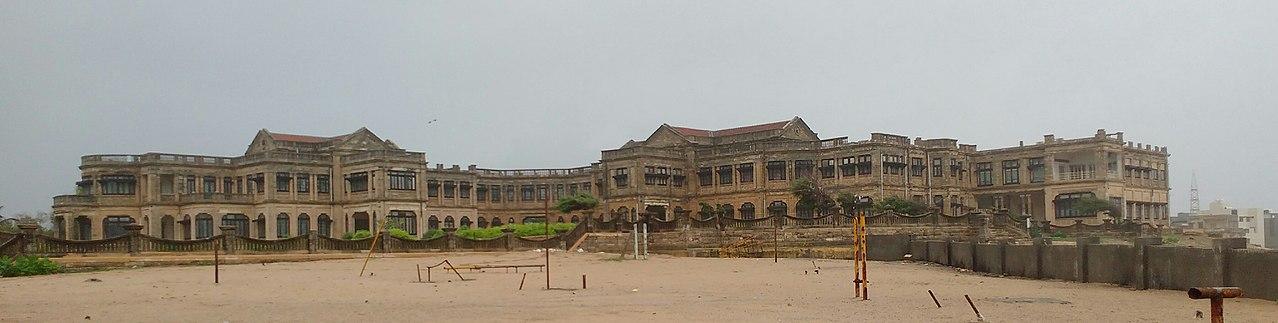 Place to Visit Near Madhavpur Beach-Huzoor Palace in Porbandar