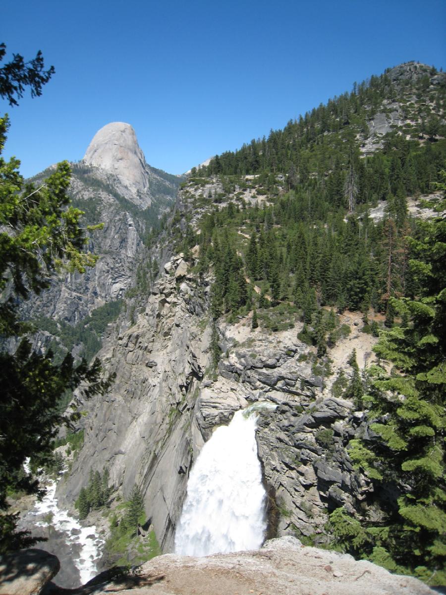 Nice Waterfall In California-Illiouette Falls