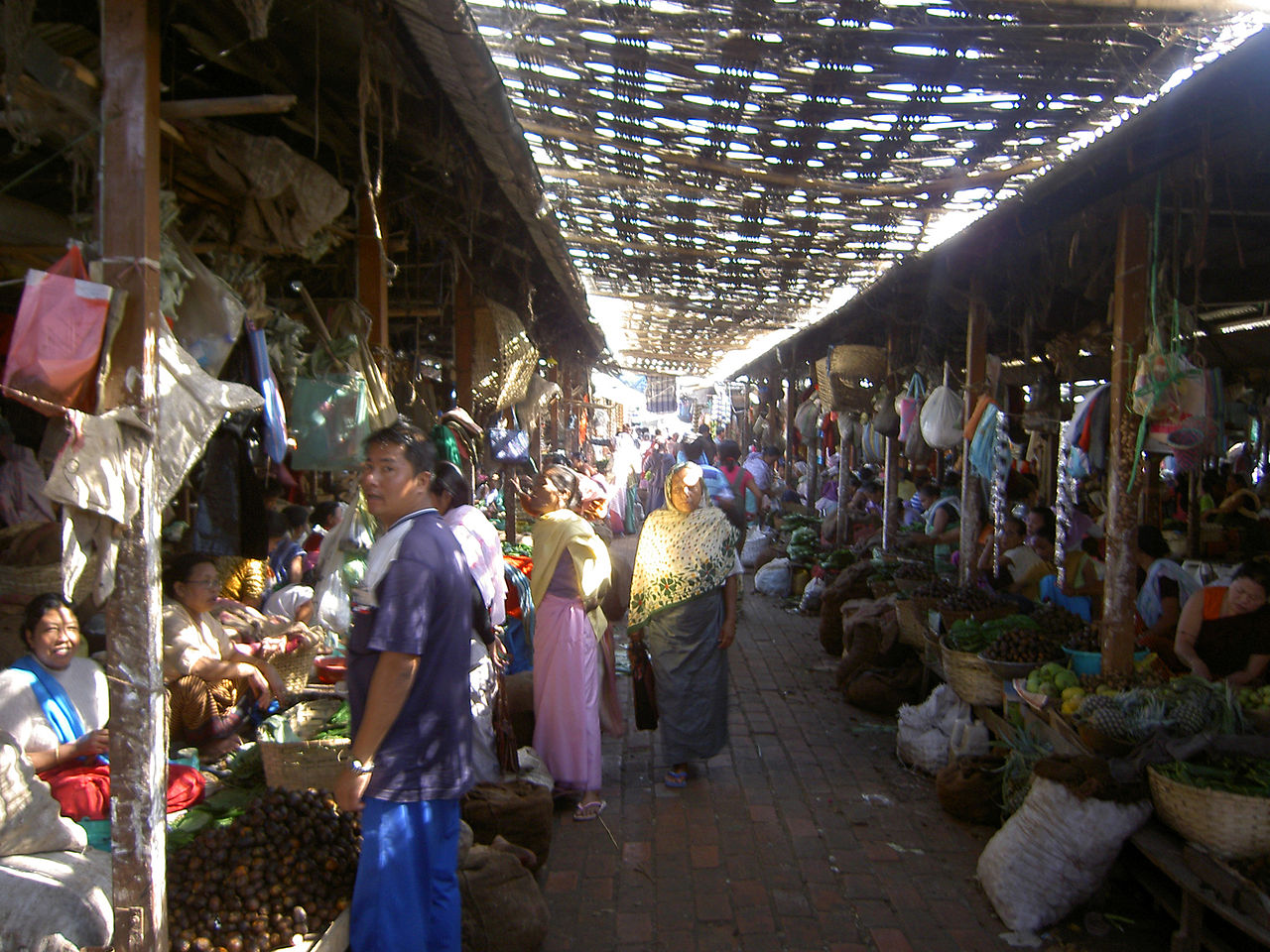 Ima Keithel - Imphal Shopping Experience