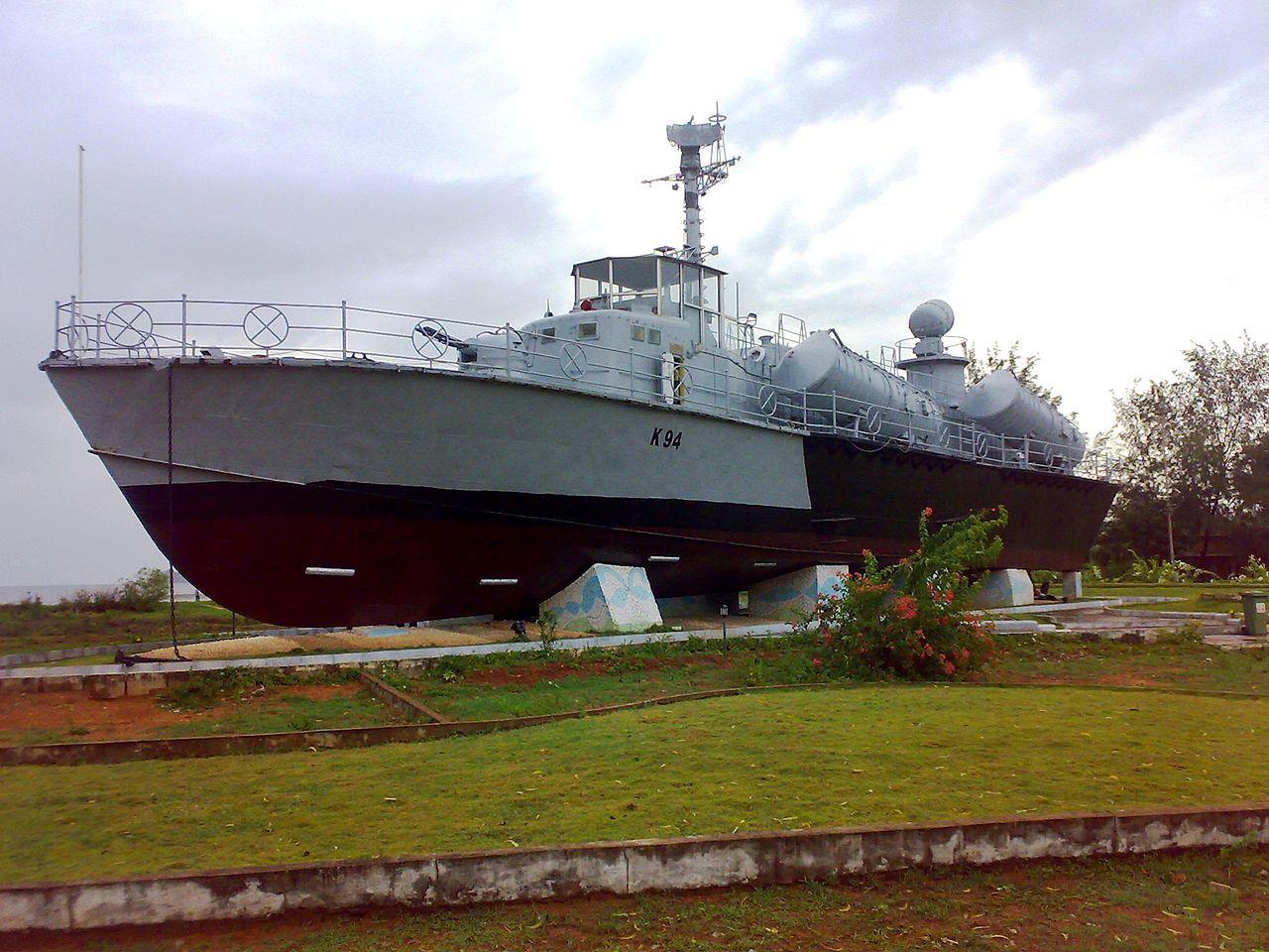 Place To See Near Karwar Beach, INS Chapal Warship Museum