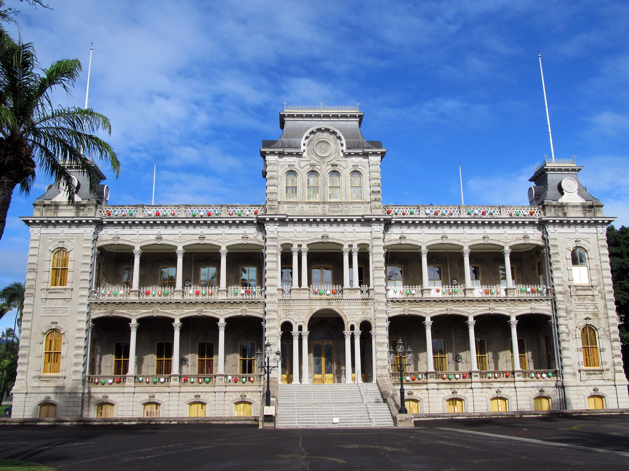 Attraction Tourist Place In Hawaii-Iolani Palace