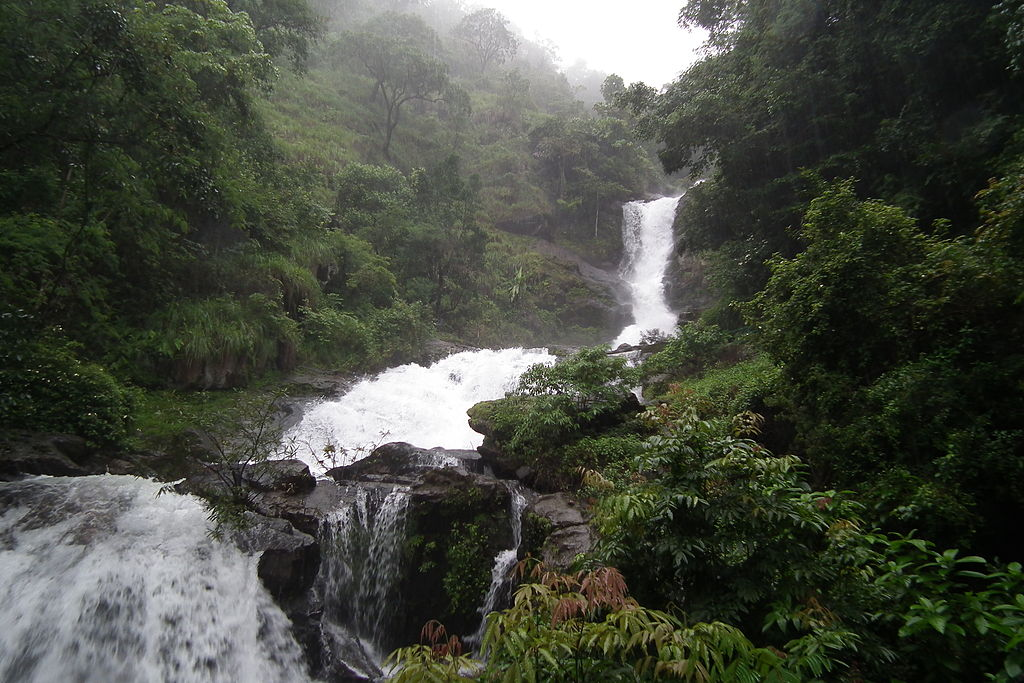 The Iruppu Falls In Coorg, Karnataka