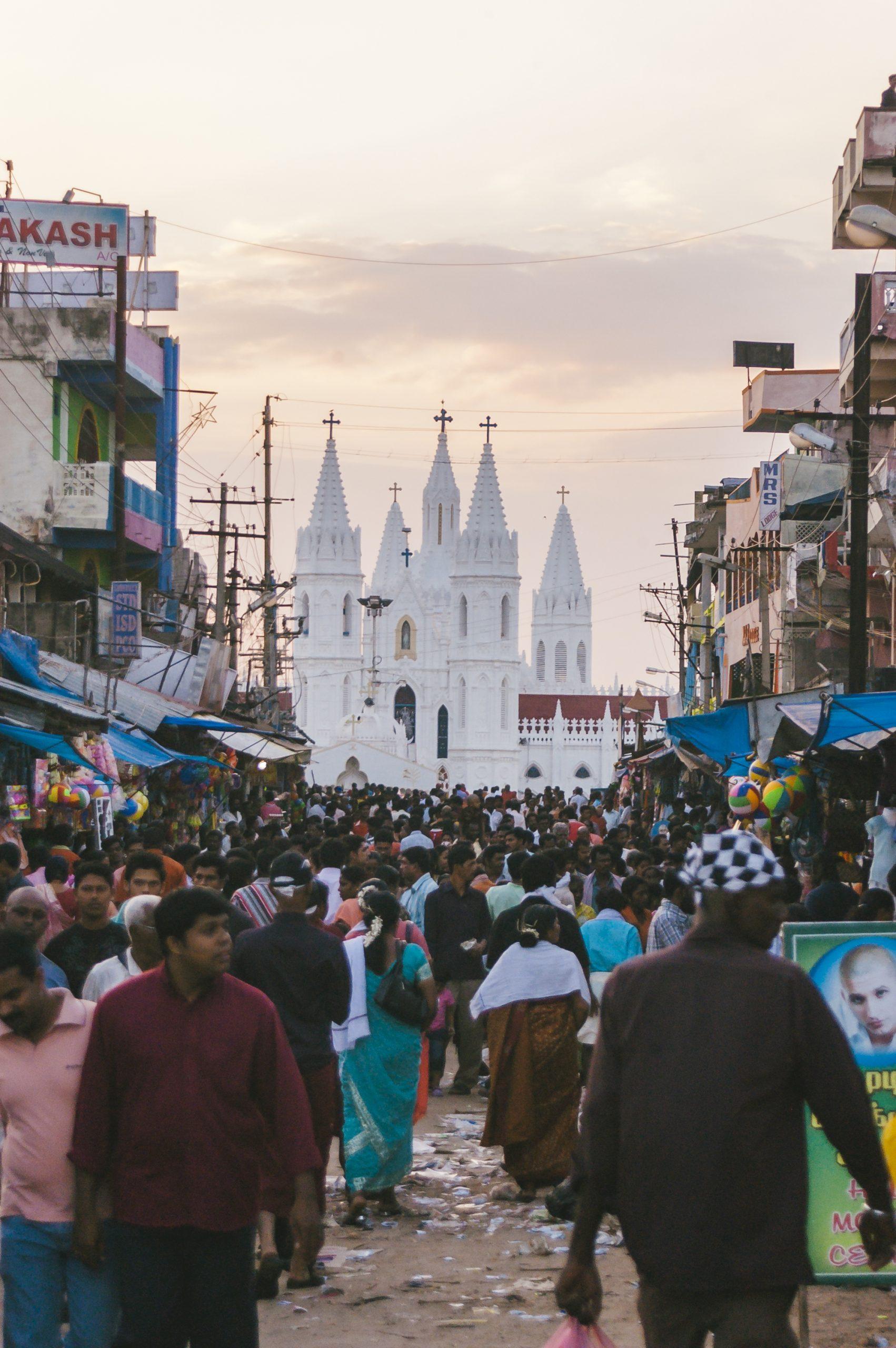 Is the Velankanni Church Popular?