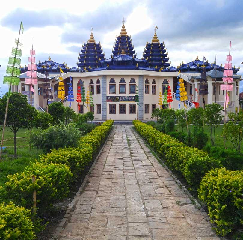 Manipur Famous Temple-Iskcon Temple
